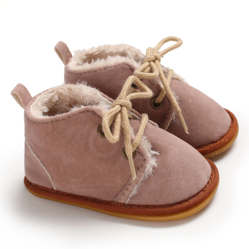 Winter Baby Shoes  Toddler Shoes  Christmas Baby Shoes Rubber Sole Baby Shoes Fashion Winter  Newborn Shoes Warm Baby Shoes