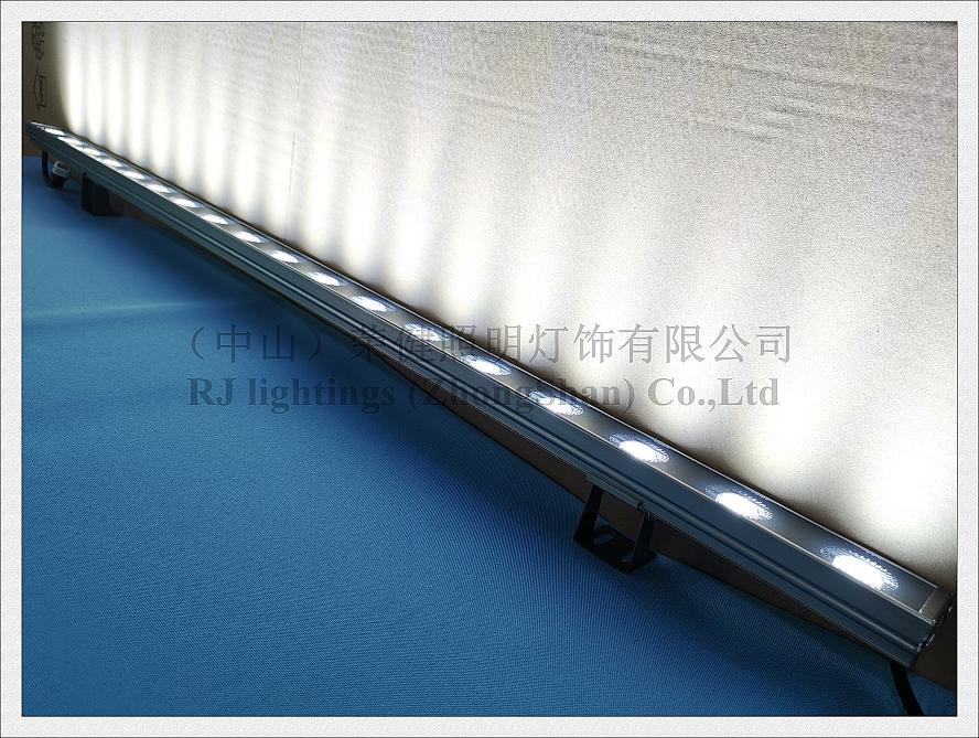 Image 5 - LED wall washer SMD wash wall LED advertising light flood lamp DC24V aluminum SMD3030 18 LED 18W 1000mm*40mm*25mm 2020 NEW styleOutdoor LED Wall Washers   -