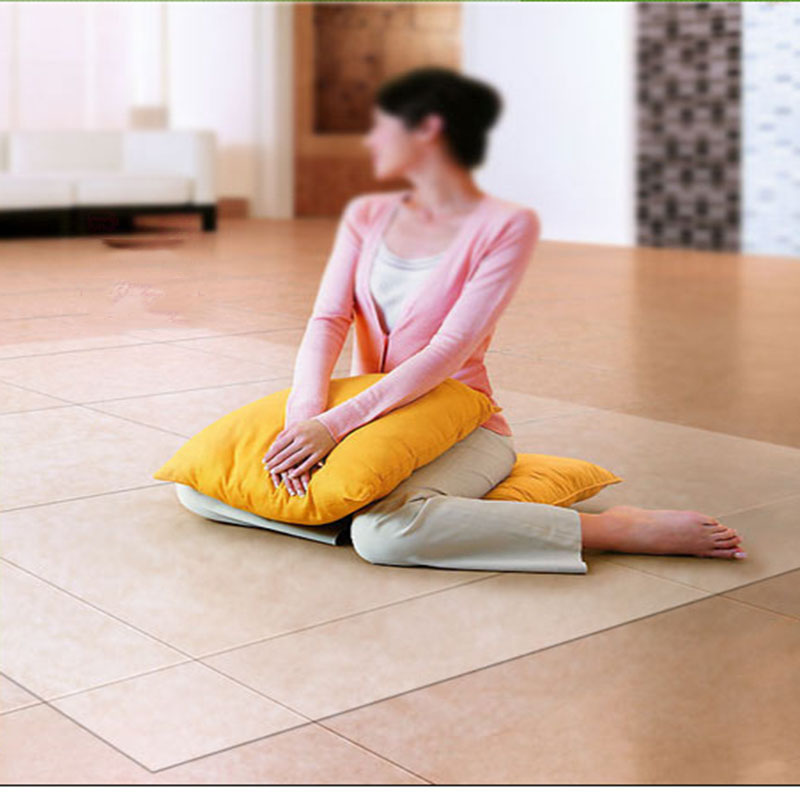 PVC transparent waterproof Yoga mat Office chair coffee table Scratchproof Soft glass carpet Wooden floor protection area rug image