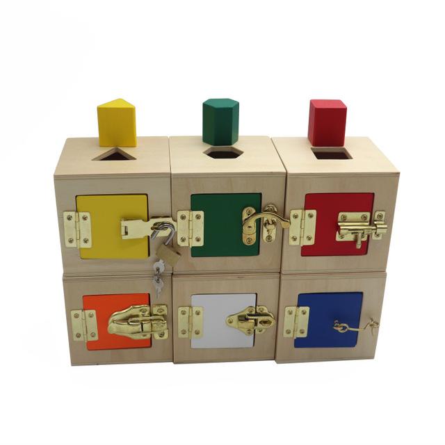 Wooden Lock Box