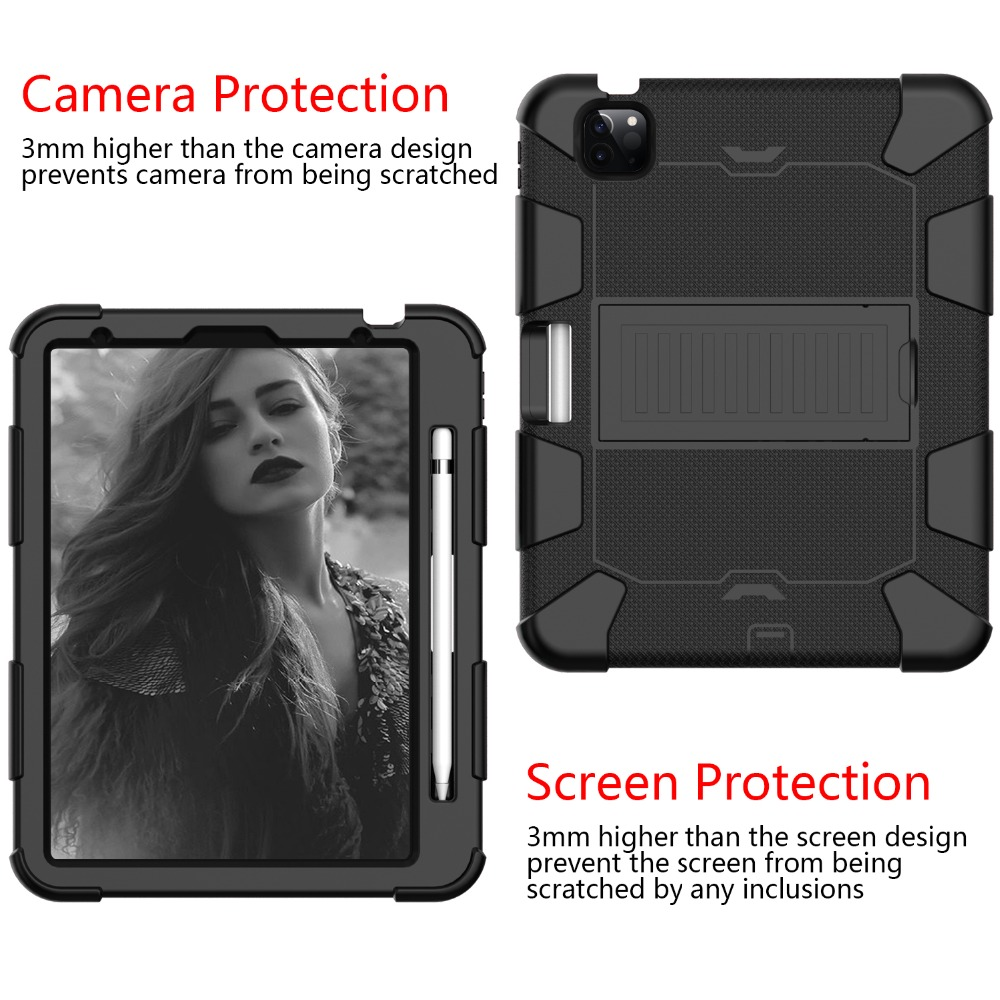 iPad 10.9 Hybird Case Heavy 2020 Duty Air Rugged for inch Tablet Kids PC Shockproof 4