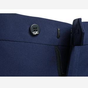Image 5 - גברים חליפות 2 Piece סטי מעצבי אחת אבזם חתן חתונה שמלת Slim Fit פורמליות משרדים קלאסי לנשף חליפת מעיל מכנסיים