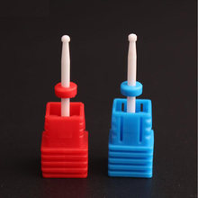 Сверло для ногтей фрезы маникюра керамические ногти сверла удаления