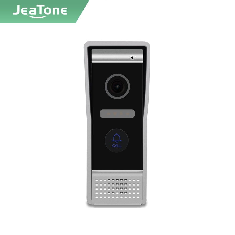 Jeatone Tuya smart NEW WIFI video intercom Doorbell Wide angle Interphone,IP65 Weatherproof,AHD camera,IR Night vision doorphone