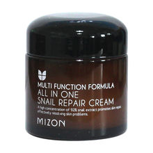 цена на MIZON All In One Snail Repair Cream 75ml Moisturizing Anti Wrinkle Pore Repairing Firming Face Cream Scar Acne Treatment