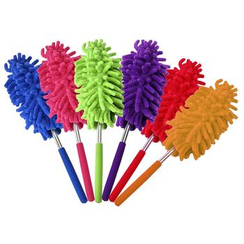 Microfiber Duster Brush Extendable Hand Dust Cleaner Anti Dusting Brush Home Air-condition Car Furniture Cleaning tanie i dobre opinie CHUWUJU Elipsa Dust Shan Other Wentylatory sufitowe
