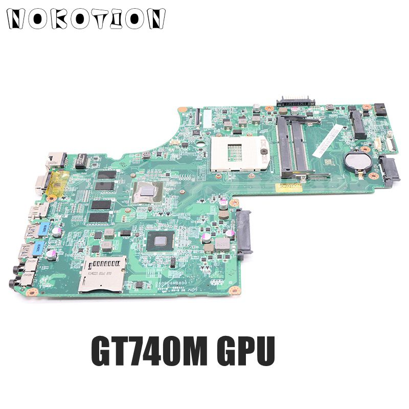 NOKOTION DA0BD6MB8D0 A000243780 Laptop <font><b>Motherboard</b></font> For Toshiba Satellite S70T S70 S75 Main Board HM86 DDR3L GT740M GPU image