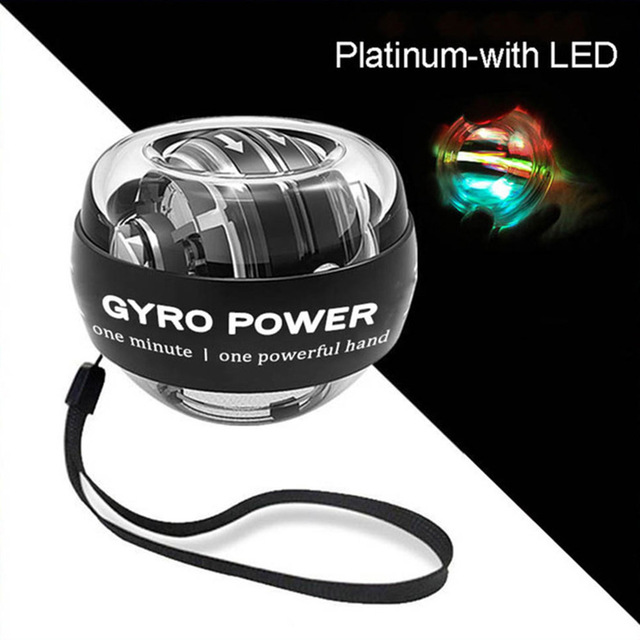 Strengthener Force Power Wrist Ball Gyroscope Spinning Wrist Rotor Gym Hand grip Exerciser Gyro Fitness Ball Muscle Relax 4