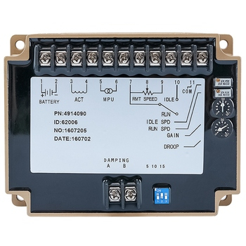 NTA855 Speed Controller 4914090 Engine Generator Part Electronic Govornor Control Board Module Ac Alternator Accessories
