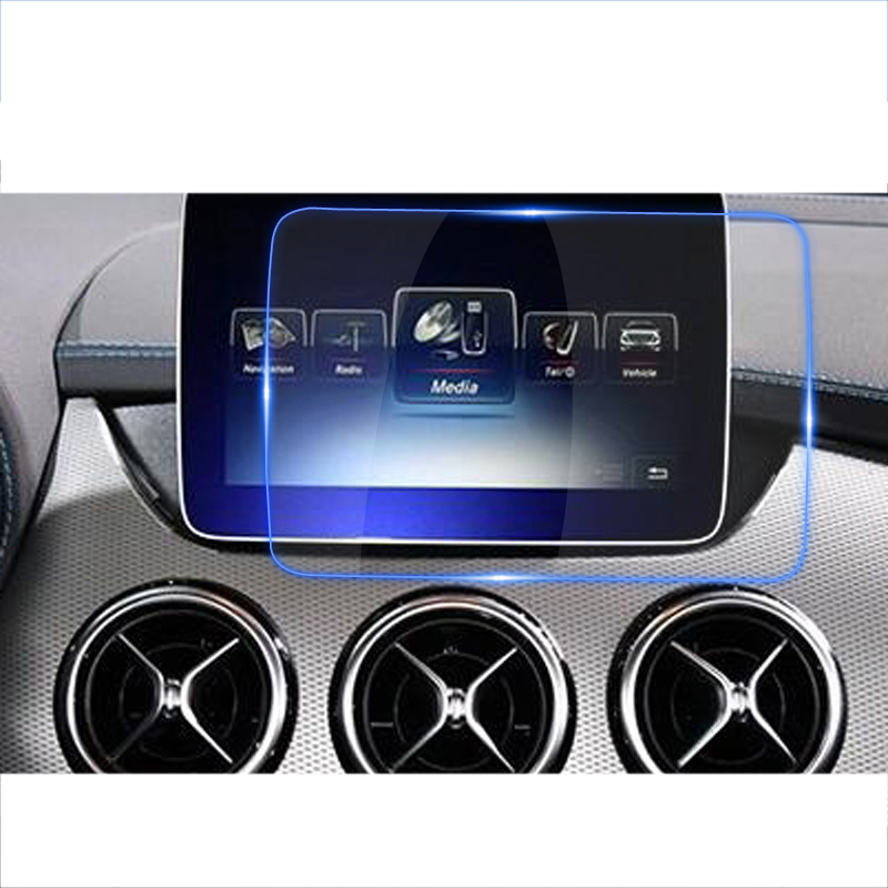 lsrtw2017 car navigation protective toughened film for <font><b>mercedes</b></font> benz b180 <font><b>b200</b></font> b260 2012 2013 2014 2015 2016 2017 2018 <font><b>w246</b></font> image