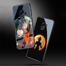 ciciber For Samsung Galaxy S8 S10e S10 S9 Plus S10+ S9+ S8+ Phone Cases for Note 9 8 Tempered Glass Cover Dragon Ball