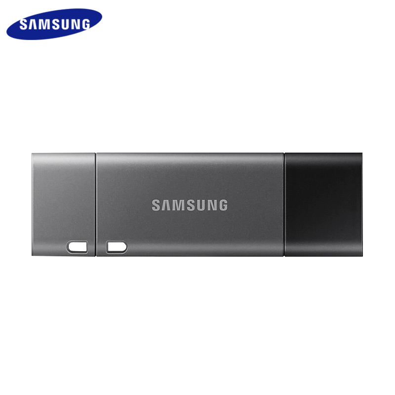 Samsung 256GB Metal USB 3.1 128GB Flash Drive 32GB Type C 64GB Memory Stick DUO Plus Pendrive For Smartphone Tablet Computer image