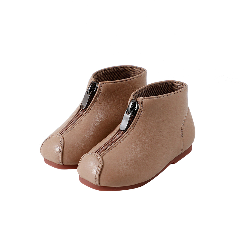 Leather Shoes  First Walkers Toddler Boys Girls Flat With Infant Baby Winter Booties Fashion Autumn Winter New SX262