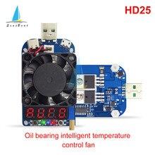 Disparador inteligente HD25 HD35 QC2.0 QC3.0, resistencia de carga electrónica USB, control de batería, voltaje de corriente ajustable, 35W, 25W