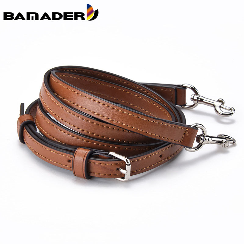 BAMADER Brand Leather Shoulder Strap Fashion Female Designer Bag Strap High Quality Shoulder Bag Strap Bag Part Replacement