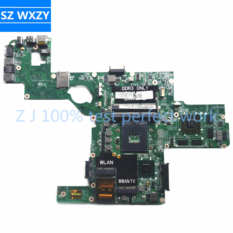 SZWXZY CN-0714WC 0714WC 714WC для DELL XPS L502X Материнская плата ноутбука GT540 2 Гб DAGM6CMB8D0 HM67