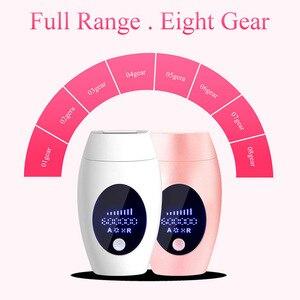 Image 3 - Newst 600000 zeit IPL Laser Haar Entfernung Maschine Lazer epilasyon mit LCD Display Haar entfernung Für Körper Bikini Gesicht Unterarm