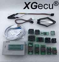 Szybka wysyłka z rosji! V9.16 XGecu TL866II Plus programator usb + 13 sztuk Adapter + klip testowy dla NAND EEPROM MCU AVR wymień TL866A/CS