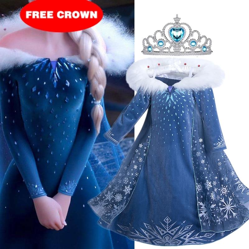 Платье принцессы для девочек, костюмы на Рождество, Хэллоуин вечерние Детские платья на день рождения, халат, детская одежда, костюм|Платья| | АлиЭкспресс