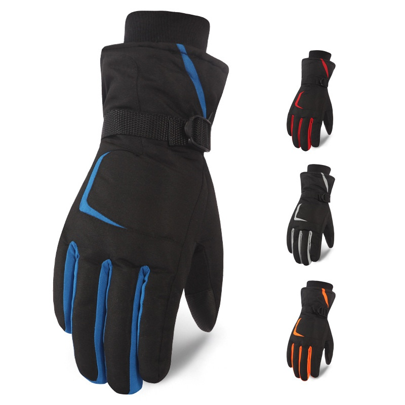 Men Women Ski Gloves Touch Screen Snowboard Snowmobile Motorcycle Riding Winter Gloves Windproof Waterproof Snow Gloves