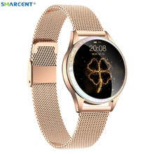 Update Bluetooth KW20 Smart Watch Women supports SIM TF Card