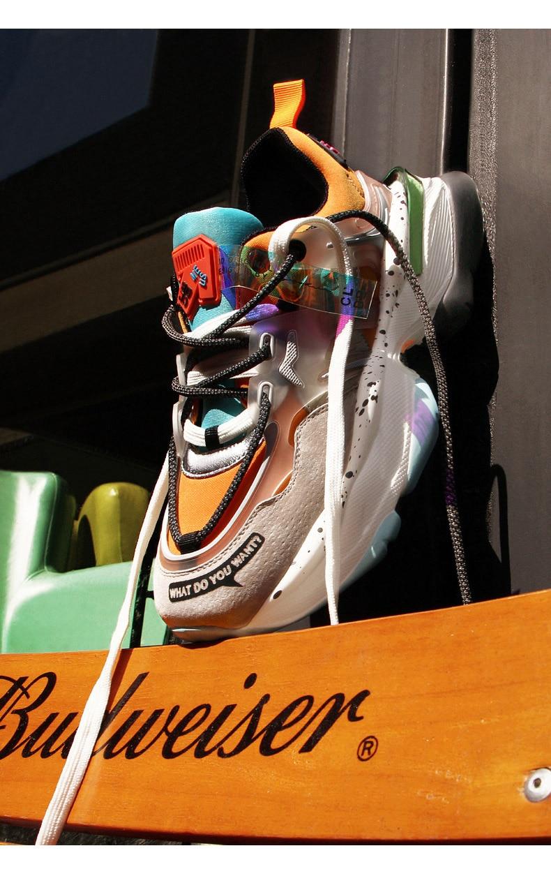 Women Trendy Dad Chunky Sneakers 5