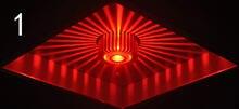 Красочный светильник для коридора индивидуальная форма алюминиевый