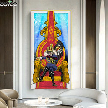 Japanes Classic Anime one piece Art Poster Nordic Character Print Wall Canvas Painting Room Decorative Prints Picture Home Decor