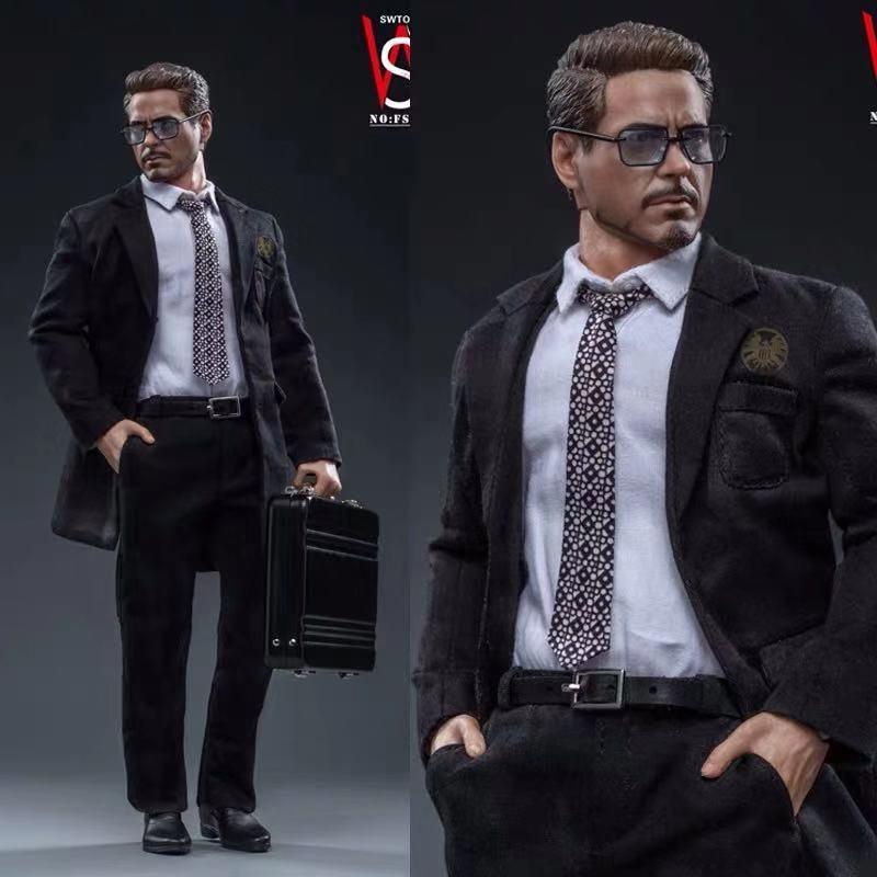 Swtoys FS021 1//6 Avengers Endgame Tony Stark figure in stock