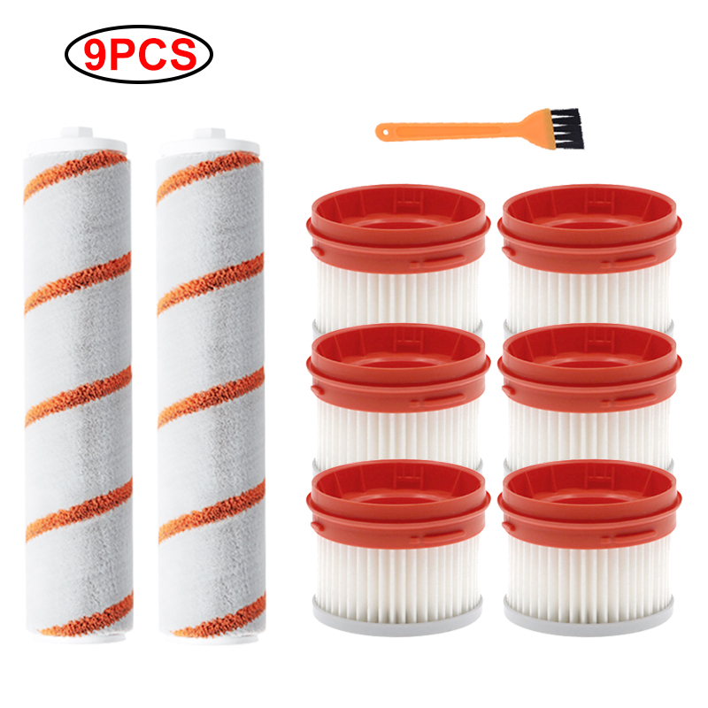 Roller Brush HEPA Filter For Xiaomi For Dreame V9 V9 Pro Household Wireless Handheld Vacuum Cleaner Parts Accessories Kit
