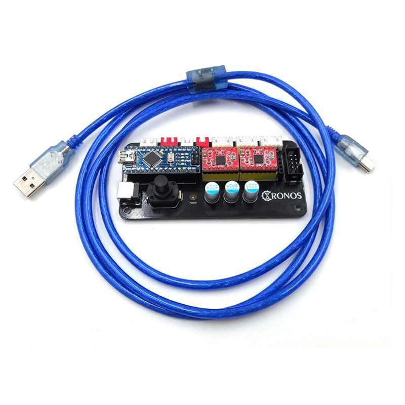DIY GRBL 2 แกนเมนบอร์ด V1.0 สำหรับเดสก์ท็อปวาดเลเซอร์แกะสลักเครื่อง plotter สาย USB สนับสนุนบลูทูธภายนอก