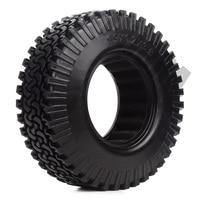INJORA 4PCS 98MM 1.9 Rubber Wheel Tires for 1:10 RC Rock Crawler Axial SCX10 AXI03007 D90 TF2 Tamiya CC01 1.9 Inch Tyres 5