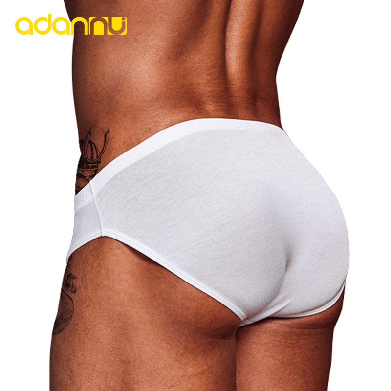 ORLVS Men Underwear Sports Sexy Men Briefs Thin Section Breathable Modal Soft Cool Quick Dry Low Waist Underpants Men Panties