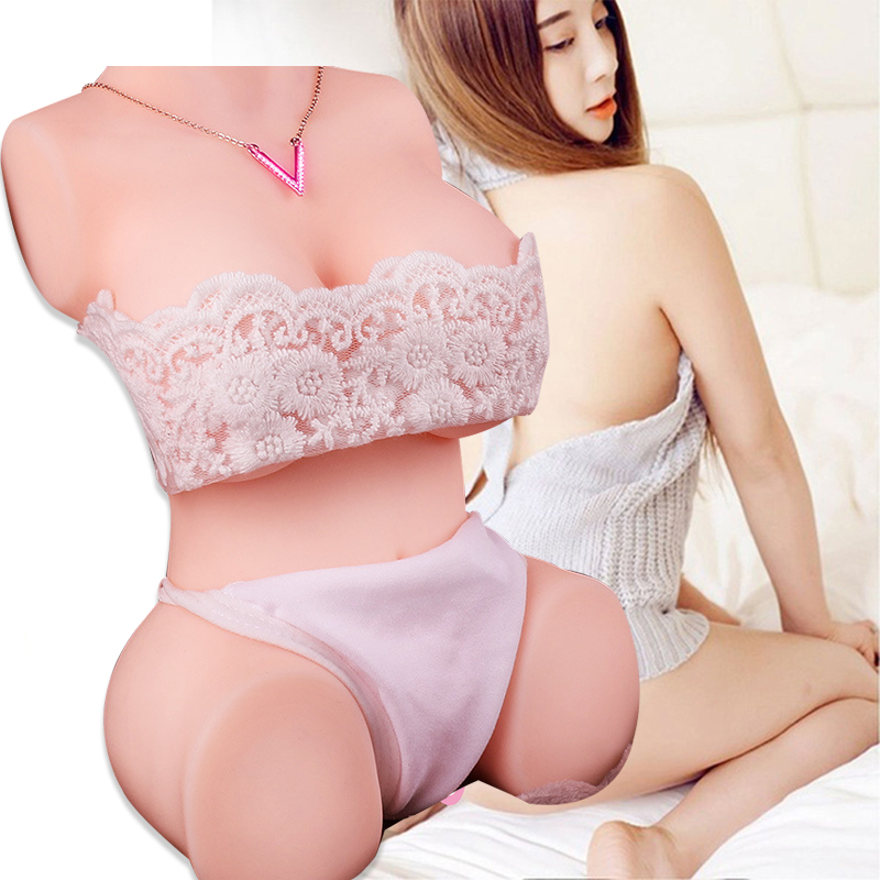 Realistic Big Ass Male Masturbation Adult silicone Sex Doll Ass Vagina Sex Toys for Men artificial sex torso anime adult doll image