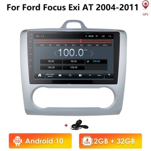 2G+32G Android 10 For ford focus 2 Mk2 2004-2011 Car Radio Multimedia Video Player Navigation GPS 2 din