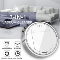Multifunctional Robot Vacuum Cleaner Home Portable Auto Rechargeable Smart Sweeper Dry Wet Sweeping Machine High Quality and New|Electric Floor Mops| |  -