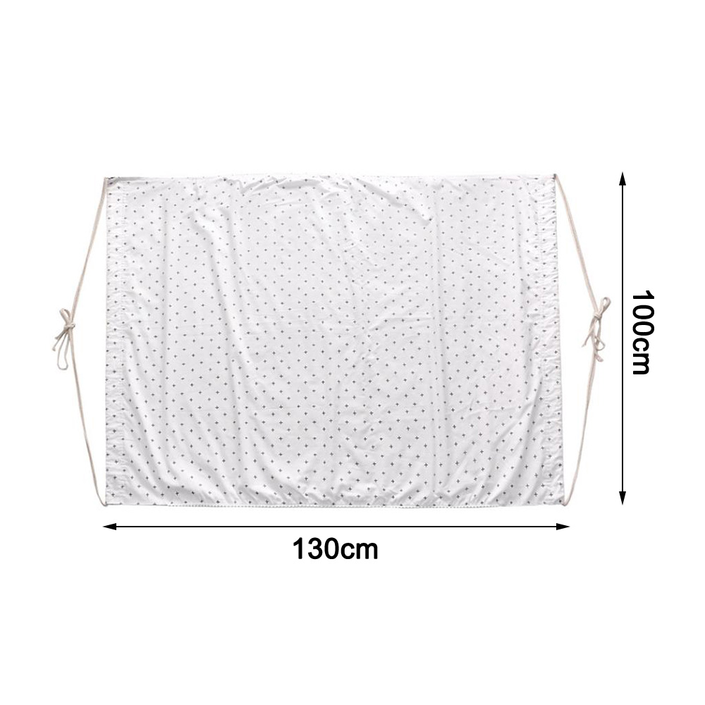 Hdf1b38110a234f57a94043ab94a0c10cO Baby Cotton Hammock Swing for Crib Cot Removable Baby Rocking Chair Sleeping Bed Indoor Outdoor Adjustable Hanging Basket