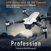 New RC Drone 8811 GPS 5G Quadrocopter with Wide Angle 4K Camera Drone Gesture Foldable Optical Flow Dron Helicopter VS SG906