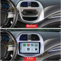 Reproductor Multimedia para coche Chevrolet Spark Beat, pantalla de 9 pulgadas, navegación por Internet inteligente, Android, Radio RAM, 6GB, 2018, 2019, 2020