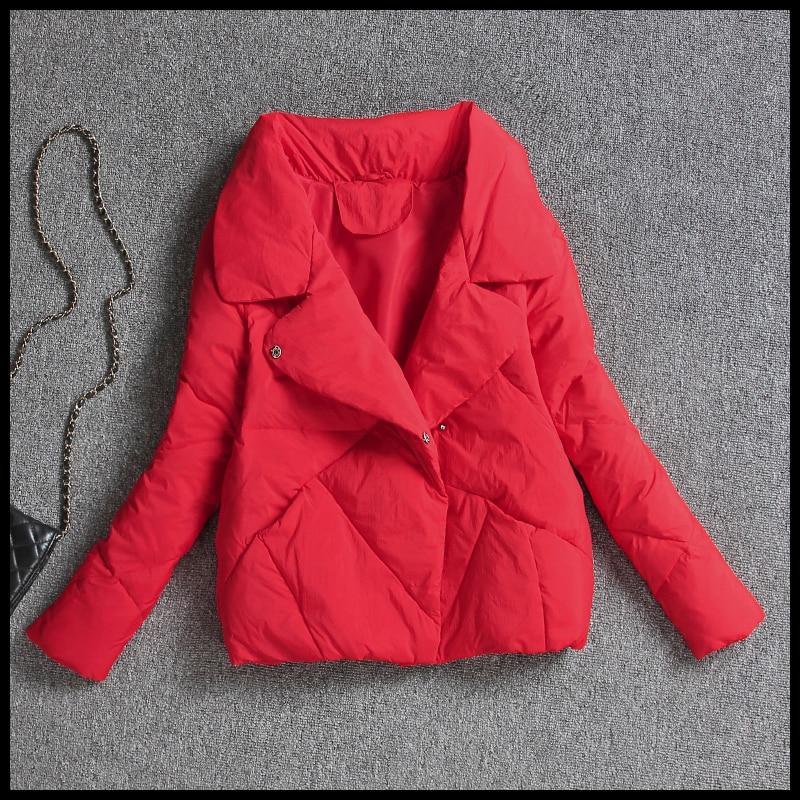 Short Women's Down Jacket Korean Autumn Winter 90% White Duck Down Coat Female Puffer Jacket 2020 Chaqueta Mujer KJ3352