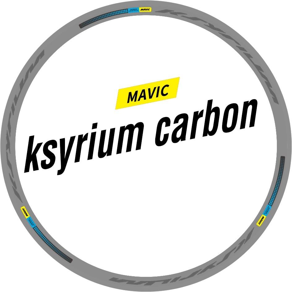 rims 12 Ksyrium Elite Wheel Decals//Stickers full set for 25mm