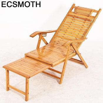 Divani-Silla de salón Plegable con grifos de bambú mecedora, sillón Moderno Para...