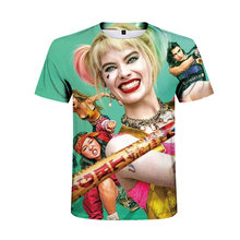 Harley Quinn Suicide Squad T-shirt For Men Plus Size Men Cotton Tees Streetwear(China)