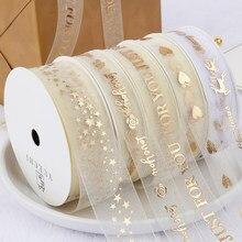 Feliz aniversário fitas amante casamento evento festa de natal decoração de cozimento buquê arco cartão presentes caixa embalagem decoração
