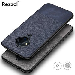 На Алиэкспресс купить чехол для смартфона for vivo v17 case fabric cloth hard pc back cover for vivo v17 neo v17 pro phone case rezzol business coques