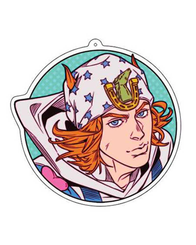1 stücke BIZARRE ABENTEUER Acryl Anhänger Schlüssel Kette Anime Cartoon Bedruckt Schlüssel Ring Sammeln Freunde Geburtstag Geschenk Decor