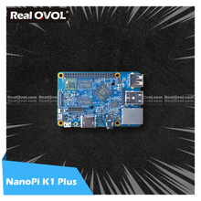 RealQvol FriendlyELEC NanoPi K1 Plus Allwinner H5 Quad-core 64-bit A53 Mali450 2GB RAM DDR3 WIFI HDMI RTL8211E Gigabit Ethernet