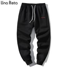 Una Reta męskie spodnie nowe spodnie dorywczo męskie spodnie hip-hopowe spodnie sportowe spodnie dresowe Streetwear Joggers tanie tanio Ołówek spodnie Pełnej długości Mieszkanie REGULAR Poliester COTTON 0 - 0 Midweight Suknem Kieszenie HIP HOP Elastyczny pas