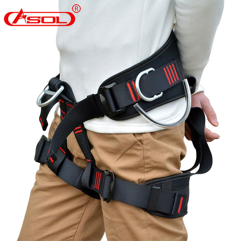 European Style Half-length Outdoor Aerial Homework Safety Belt High Altitude Safety Belt Exterior Wall Construction Protection R