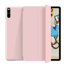 Cover Mate-Pad Soft-Silicone for Huawei Case Magnet-Shell with Smart-Sleep Wake Funda